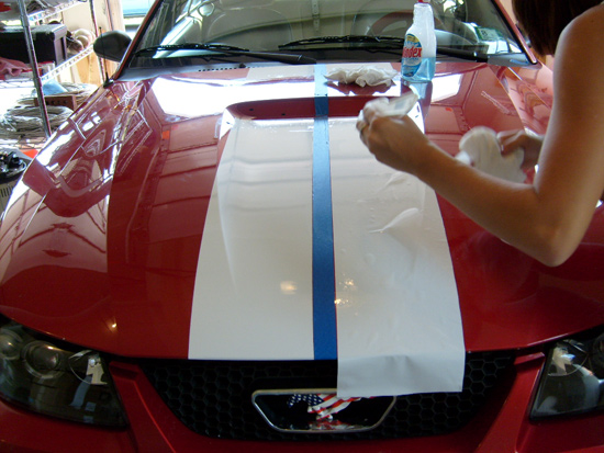 Mustang Le Mans Stripe Installation Guide Americanmuscle