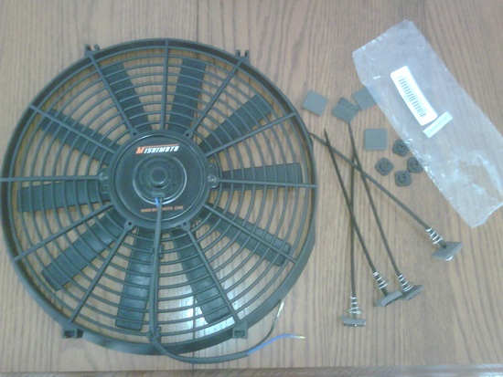 Mishimoto 14in Performance Slim Radiator Fan
