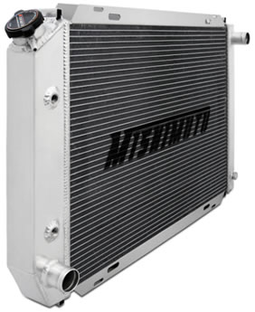 Replacement Mishimoto Foxbody Mustang Radiator