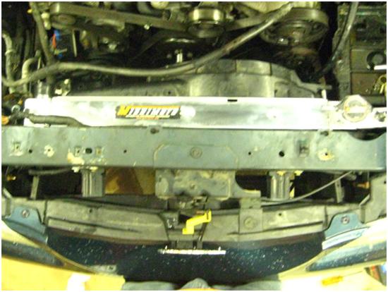 Mishimoto Performance Aluminum Mustang Radiator - Manual - ('94-'95