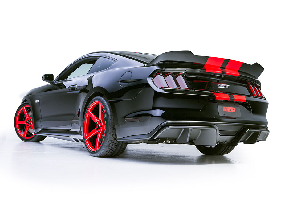 Mmd Builds 2015 Ford Mustangs For Sema 2014 Americanmuscle