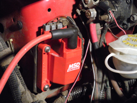 MSD 5 0L TFI Performance Coil ('86-'95) - Installation