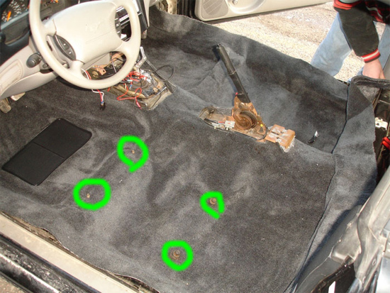 Mustang Replacement Floor Carpet ('94-'04) - Installation Instructions   AmericanMuscle