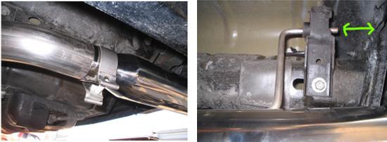 Aftermarket Exhaust Clamp