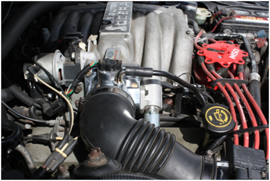 Stack Racing Throttle Body ('86-'93 5 0L) - Installation