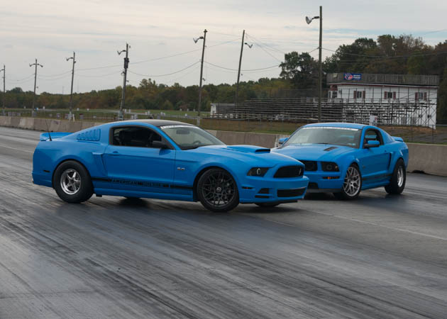 2006 GT and a 2014 GT ready for a run