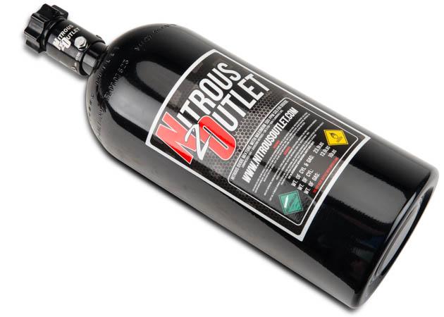 Nitrous Bottle From Nitrous Outlet