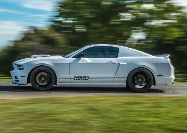 Project MMD 2014 GT Mustang Rolling
