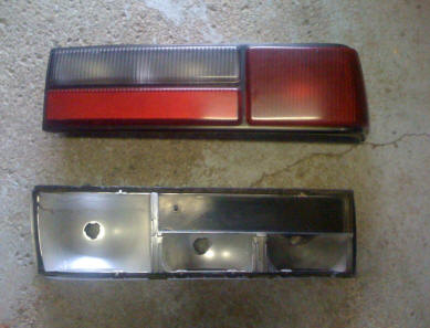 Fox Body Light & Assembly