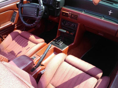 Automatic Fox Body Interior