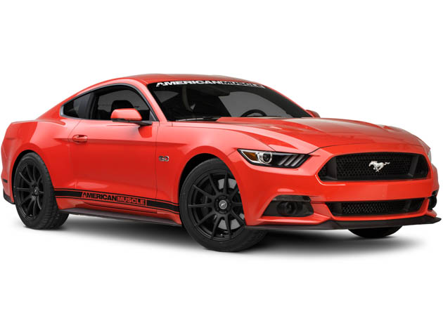 2015 Mustang GT with Forgestar Rim Set