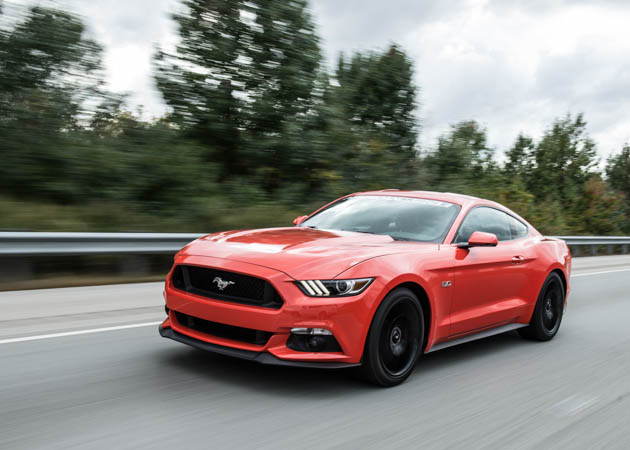 2015 Mustang GT on the Street