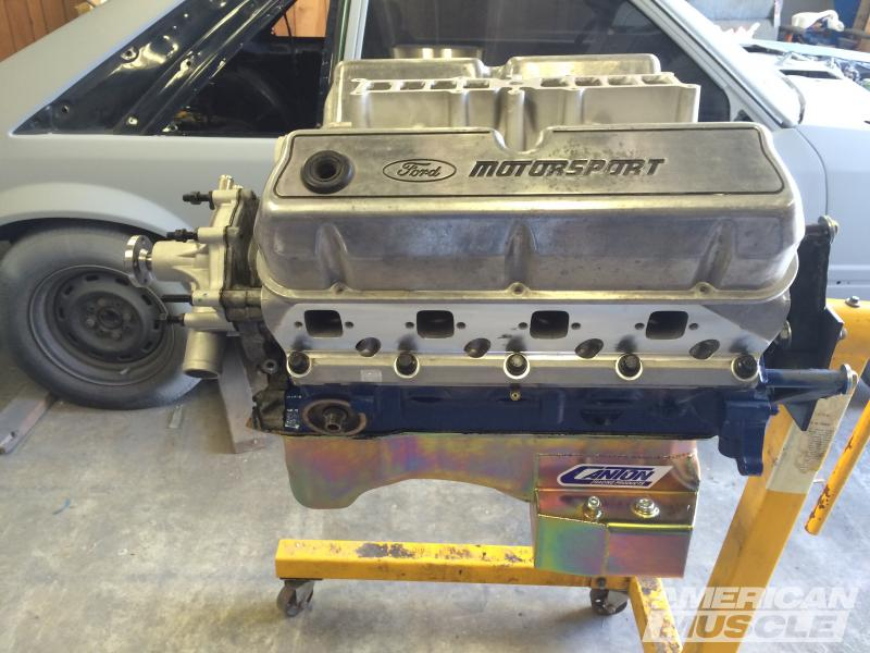 Coyote swap into a fox americanmuscle canton rear sump oil pan publicscrutiny Images