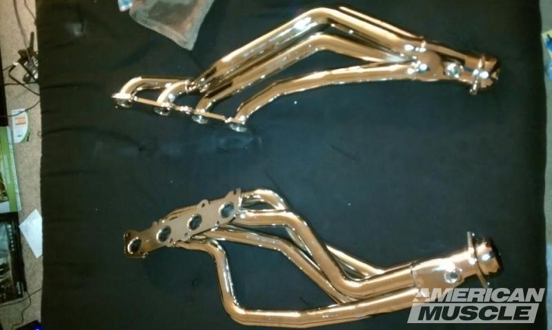 Coyote Long Tube Headers