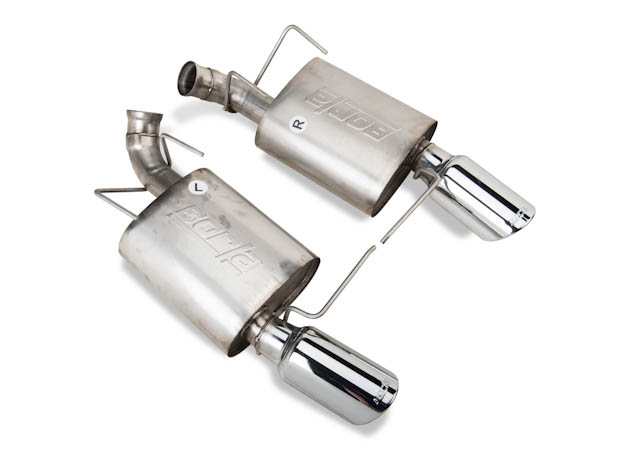 Mustang Axle-Back Chambered Exhaust
