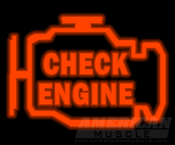 Ford Mustang Check Engine Light Code
