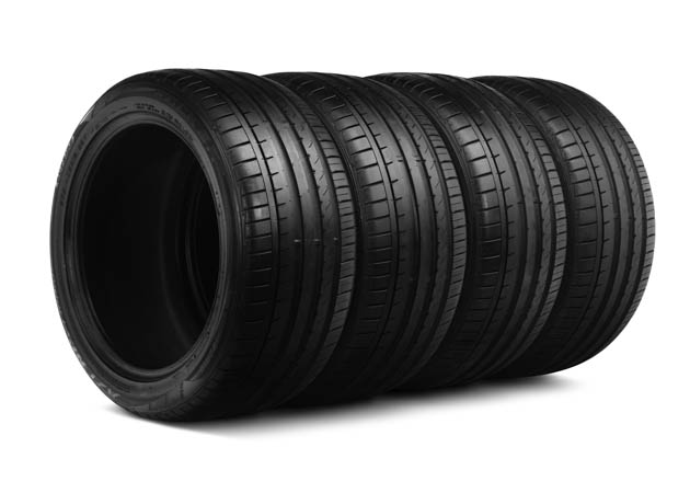 Set of Falken Mustang Tires