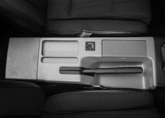 Foxbody Brushed Silver Center Console