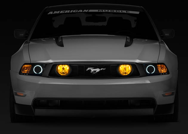 2014 Mustang with Raxiom Aftermarket Headlights