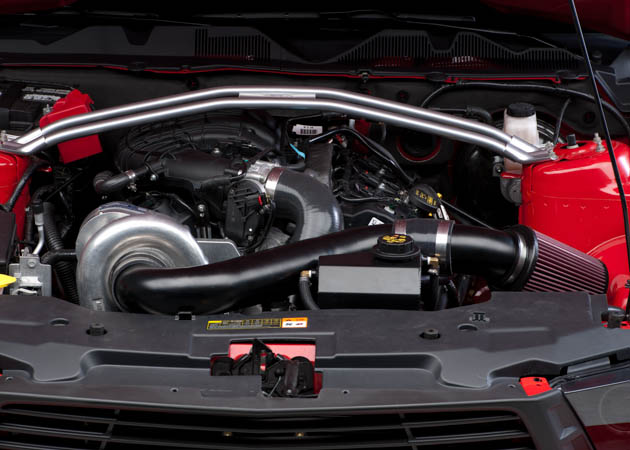 2011 Mustang with Centrifugal Supercharger