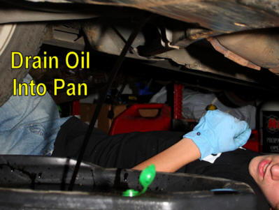 How To Change Mustang Oil Step 4