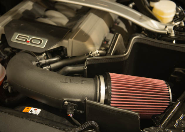 2015 mustang gt with a jlt performance air intake
