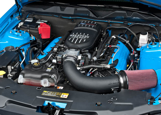 2011-2012 Mustang with a Ford Racing Cold Air Intake