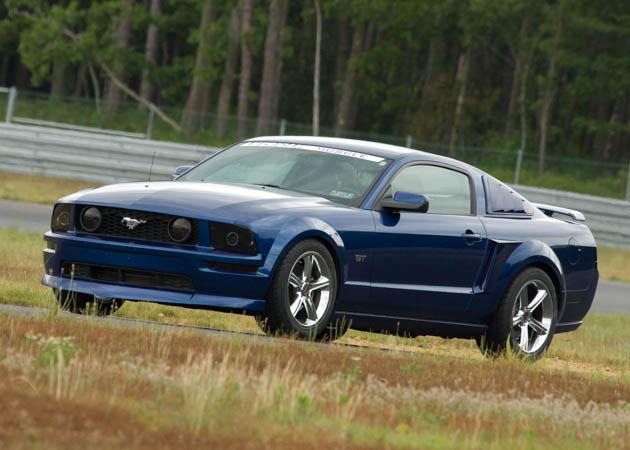 2006 Vista Blue Mustang GT
