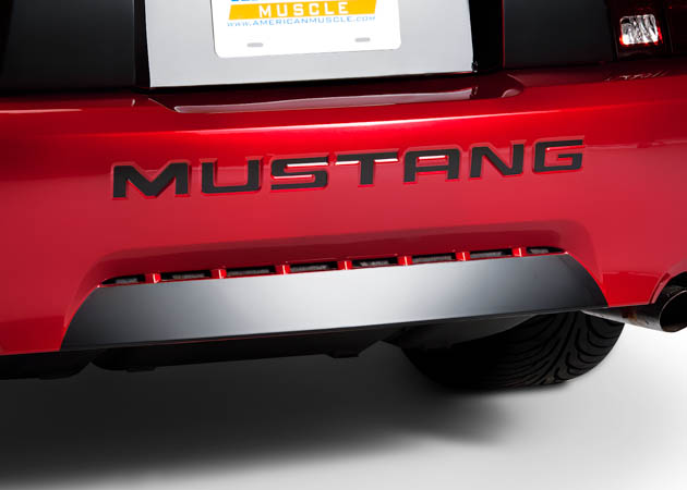 1999-2004 Mustang with a Blacked-out Rear Valance