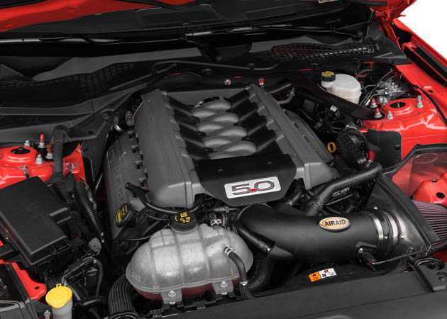 2015 Mustang GT with Airaid Intake Installed
