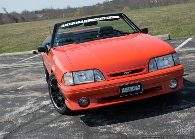 1993 Convertible Mustang