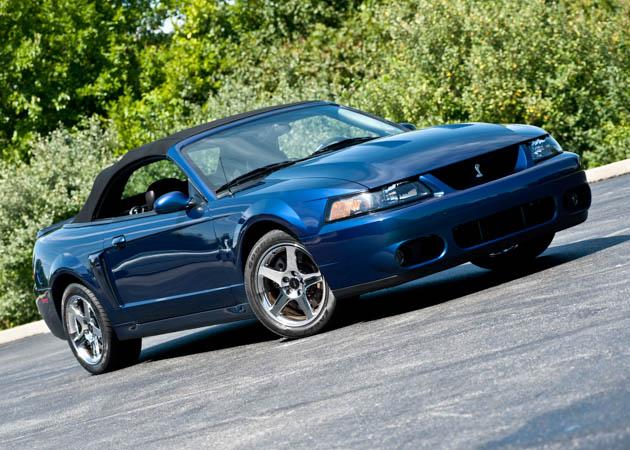 Mystachrome Mustang