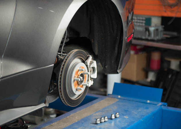 2015 EcoBoost Mustang Stock Front Brakes