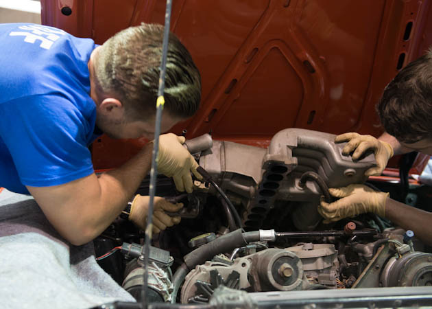 Installing an Intake Manifold on Project Foxbody